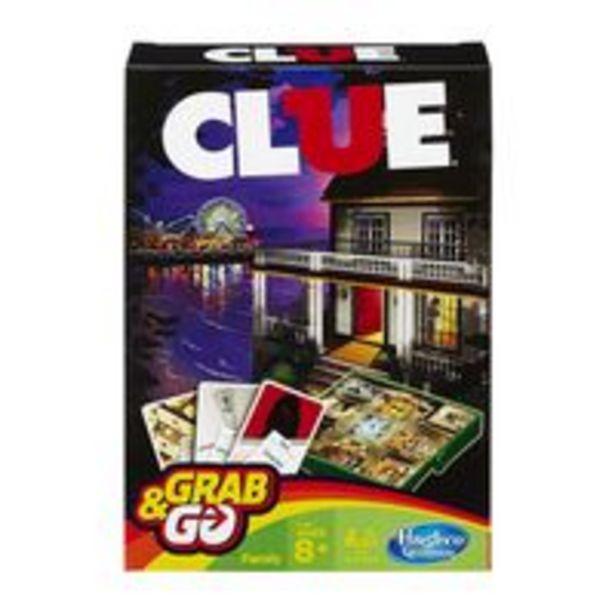 Oferta de Jogo Clue Grab and Go - Hasbro por R$59,9