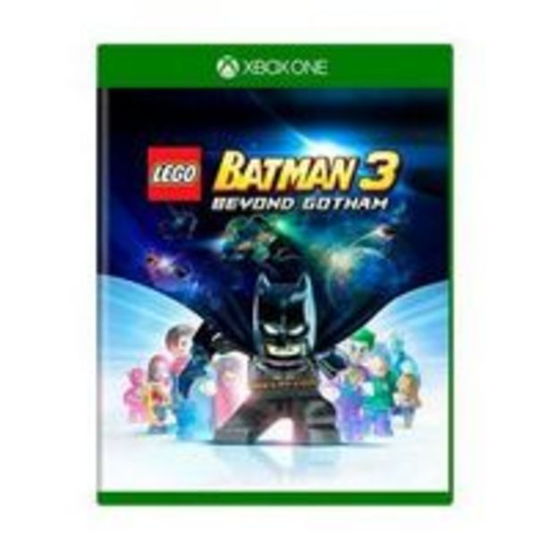 Oferta de Novo: Jogo Lego: Batman 3 - Xbox One por R$89,9