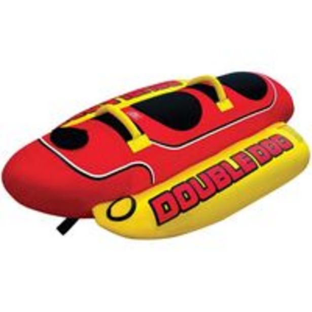 Oferta de Airhead Hot Dog Towable Tube for Boating with 15 Rider por R$2437,54