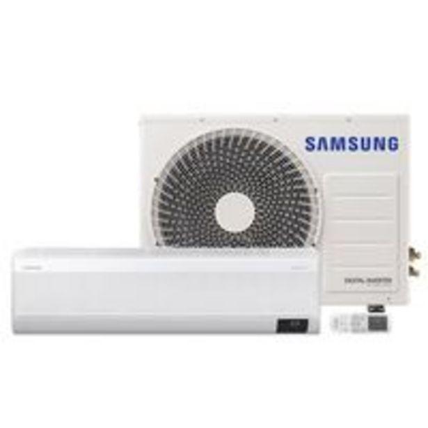 Oferta de Ar Condicionado Split Inverter Samsung WindFree™ 18000 BTU Branco Inverter 220V AR18AVHABWKXAZ por R$3449