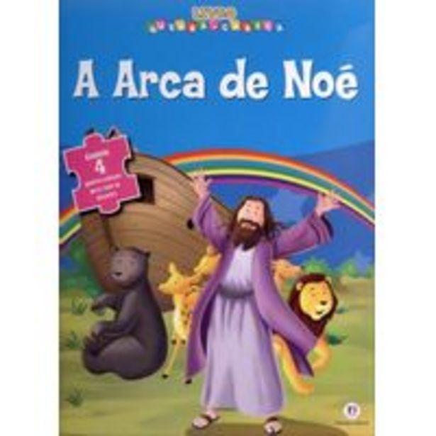Oferta de Livro Quebra-Cabeça A Arca de Noé por R$16,3
