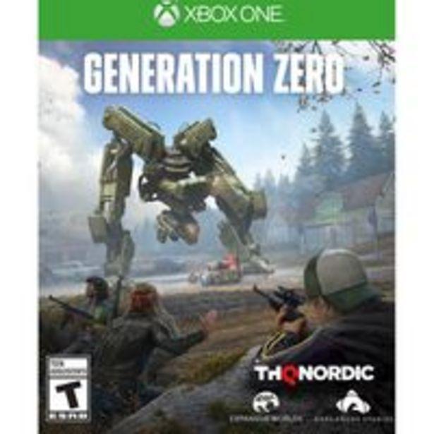 Oferta de Generation Zero - Xbox One por R$572