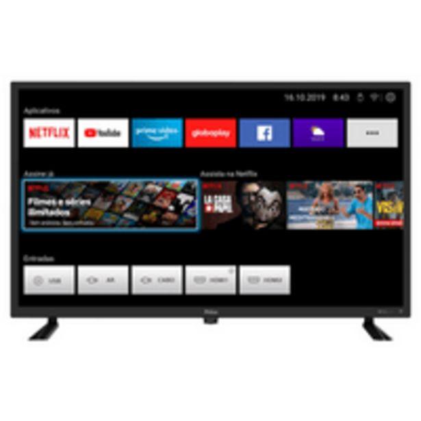 Oferta de Smart TV Led 32'' Philco, HD, Wi-Fi, USB, HDMI - PTV32D10N5SKH por R$1599