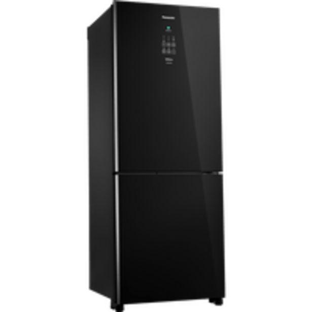 Oferta de Geladeira / Refrigerador Panasonic, Inverter, Frost Free, Duplex, 425L, Preto - NR-BB53GV3B por R$4398