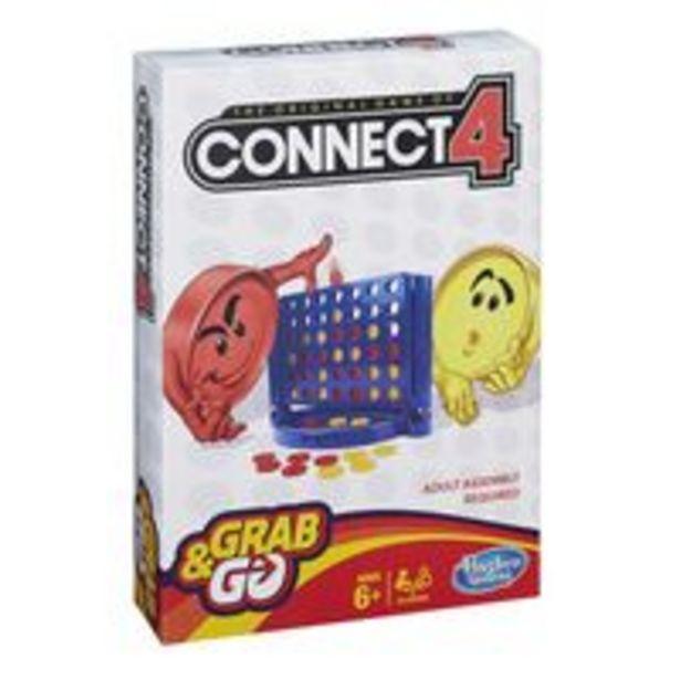 Oferta de Jogo Connect 4 Grab and Go - Hasbro por R$59,9