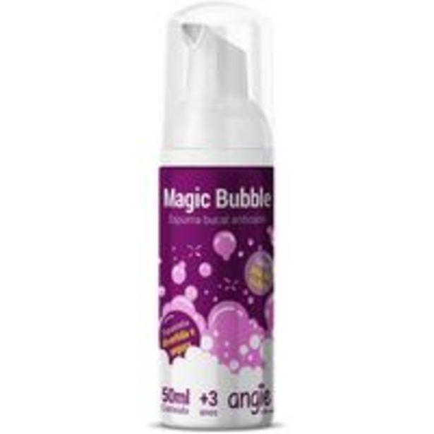 Oferta de Espuma Magic Bubble 50ml Angie por R$32,9