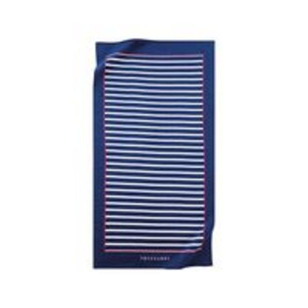Oferta de Toalha de praia Trussardi Capri 86cmx1,63m Azul por R$179,9