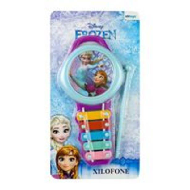 Oferta de Xilofone da Frozen - ETITOYS por R$12,9