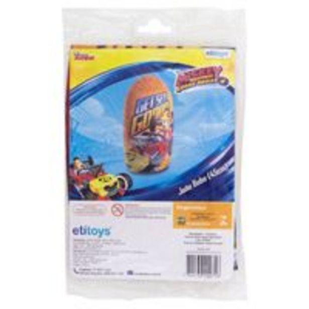 Oferta de Teimoso Inflável 45cm Mickey Mouse - ETITOYS por R$19,9