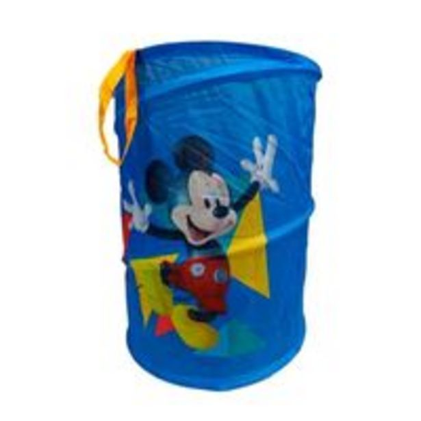 Oferta de Porta-Objetos Portátil Mickey Mouse - Zippy Toys por R$84,9