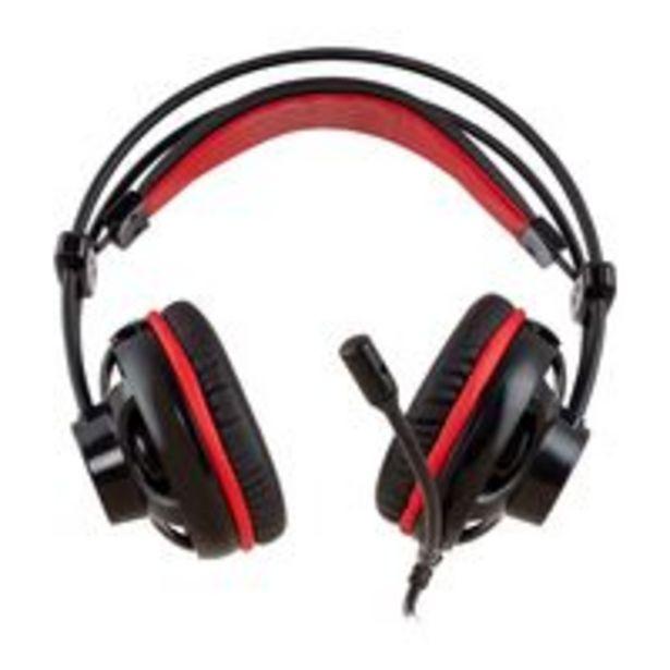 Oferta de Headset Gamer Philco PHS11V Retroiluminação LED por R$129,9