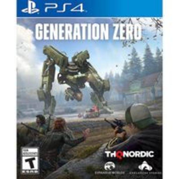 Oferta de Jogo para playstation Generation Zero - PlayStation 4, PlayStation 5 por R$450