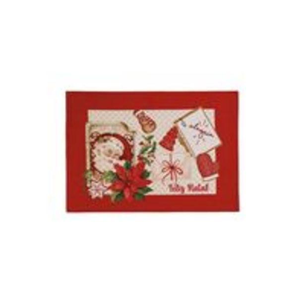Oferta de Lugar americano Karsten Receita do Noel 33cmx45cm Natal por R$9,9
