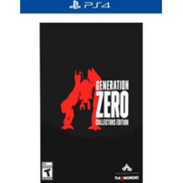 Oferta de Jogo para playstation Generation Zero Collector's Edition - PlayStation 4 por R$1010