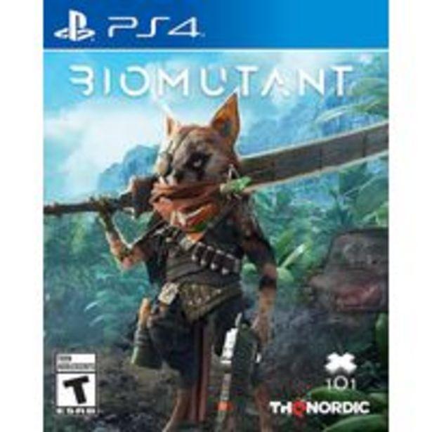 Oferta de Jogo para playstation Biomutant Standard Edition - PlayStation 4, PlayStation 5 por R$893