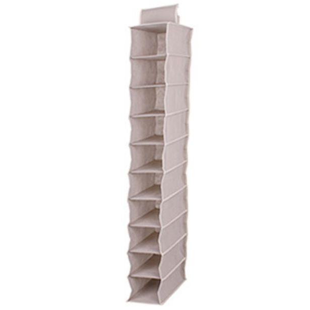 Oferta de Sapateira Tnt Vertical 10 Pares - Home Space por R$49,9