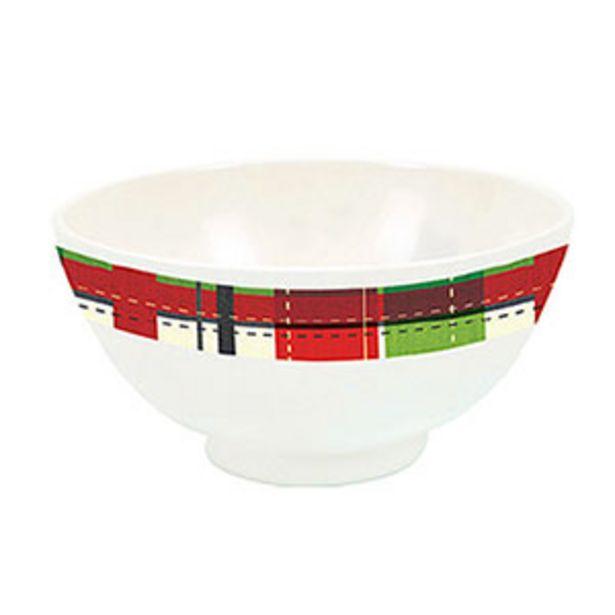 Oferta de Bowl de Natal Melamine 12,5cm - Yangzi por R$6,9