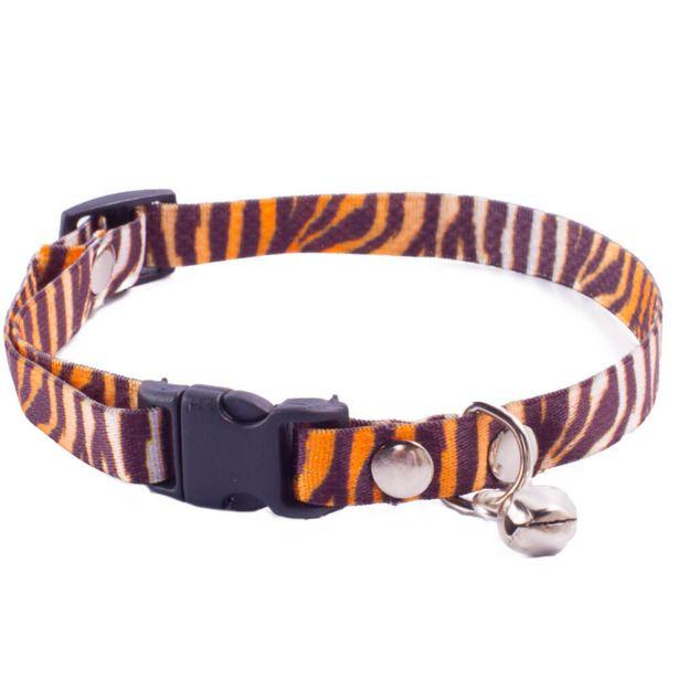 Oferta de Coleira para Gatos GR PET Feline Tigre por R$17,9