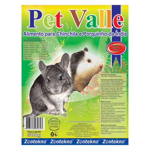 Oferta de Ração Zootekna Pet Valle para Roedores - 500g por R$11,9