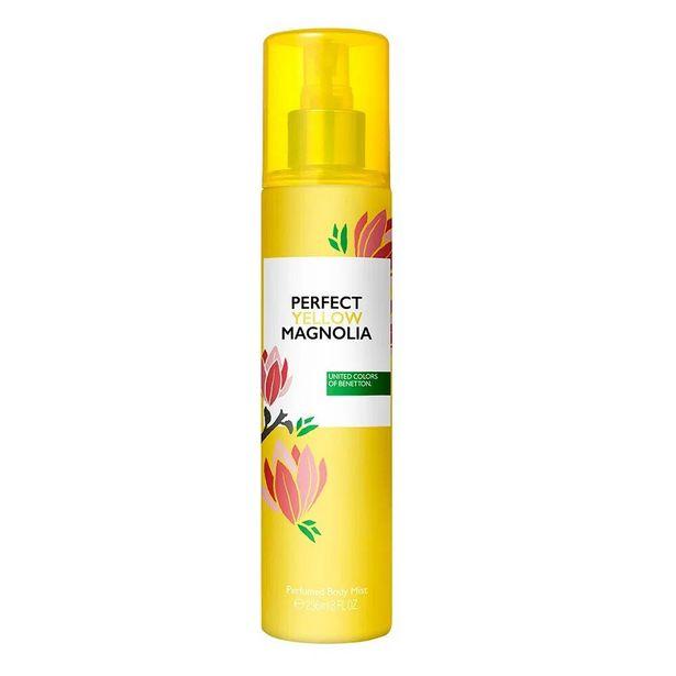 Oferta de BENETTON Body Mist Benetton Perfect Yellow Magnolia Feminino Eau de Cologne por R$35