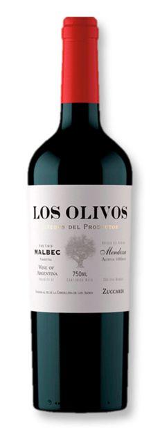 Oferta de Zuccardi Los Olivos Malbec 2020 750 mL por R$149,9
