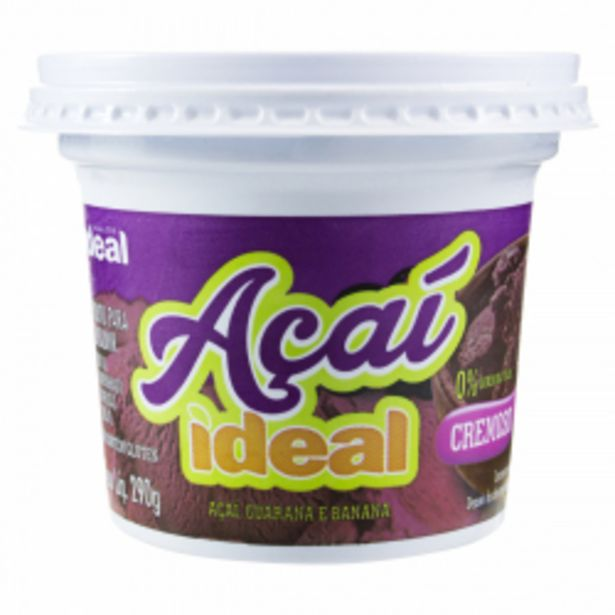 Oferta de Acaí Ideal 290g por R$8,23