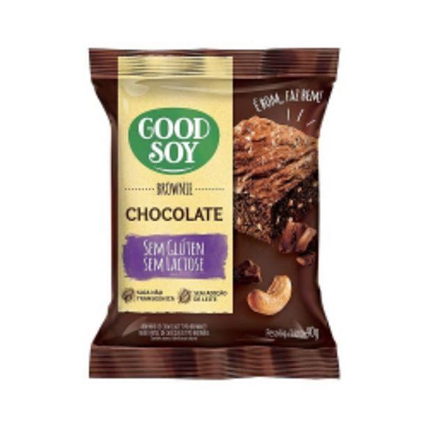 Oferta de Brownie Good Soy S/gluten 40g Chocolate por R$5,34