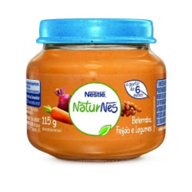 Oferta de Papinha Naturnes Nestlé Beterraba, Caldo De Feijão E Legumes 115g por R$4,89