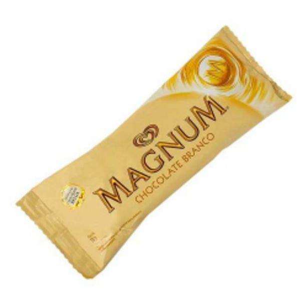 Oferta de Picole Kibon Magnum 100ml White por R$11,97