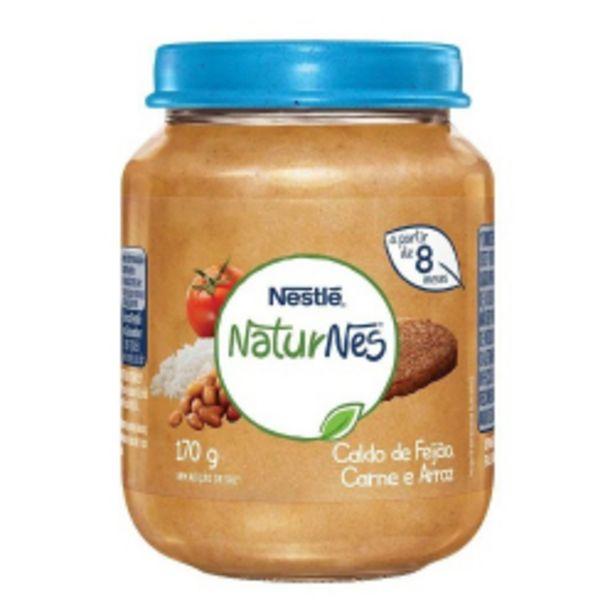 Oferta de Papinha Naturnes Nestlé Caldo De Feijão, Carne E Arroz 170g por R$6,42