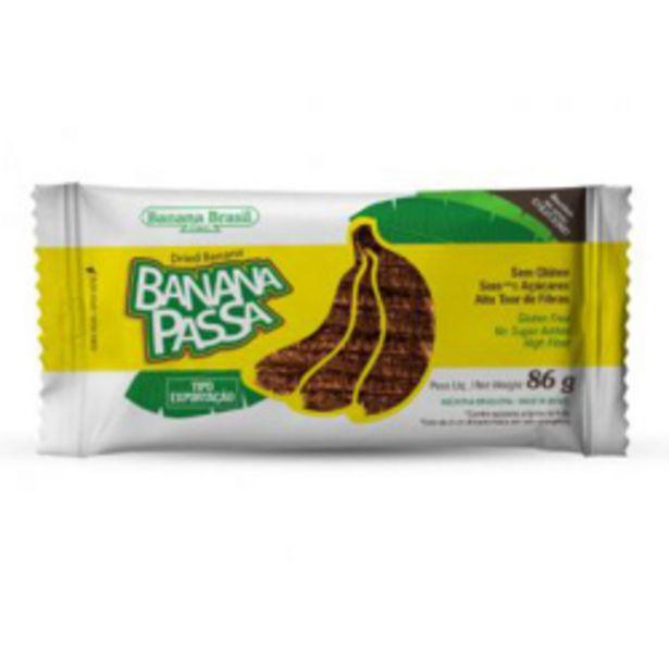 Oferta de Banana Passa Banana Brasil 86g por R$6,3