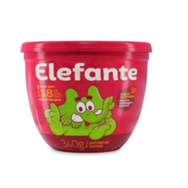Oferta de Extrato Tomate Elefante 340g Tp por R$5,6