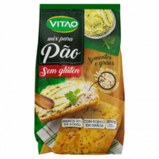 Oferta de Mist P/pao Vitao S/gluten 300g Smts Grão por R$10,37