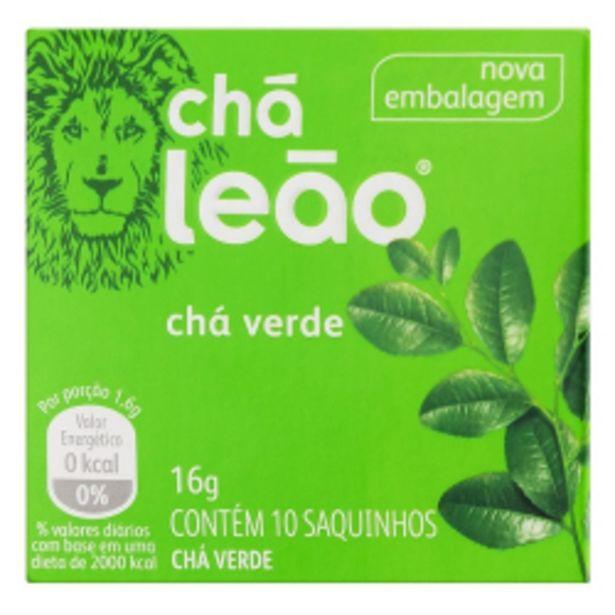 Oferta de Chá Leão 16g C/10 Chá Verde por R$4,48