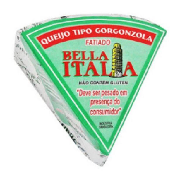 Oferta de Queijo Gorgonzola Bella Italia Fatiado 250g por R$13,84
