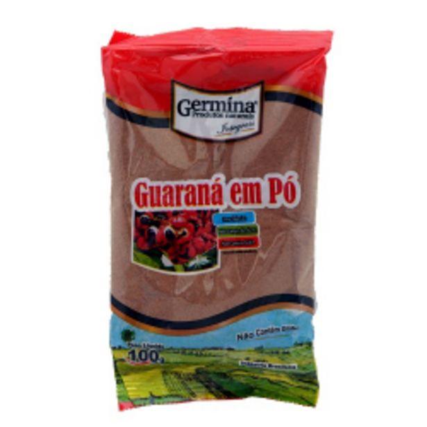 Oferta de Guarana Em Po Germina 100g por R$7,27