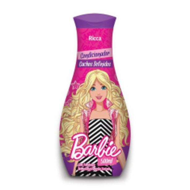 Oferta de Condicionador 500ml Barbie Cach Definidos por R$14,97