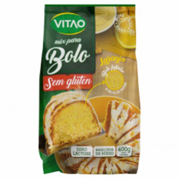 Oferta de Mist P/bolo Vitao S/gluten 400g Laranja por R$9,83