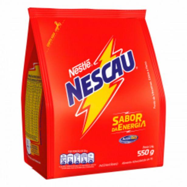 Oferta de Achocolatado Em Pó Nescau 550g por R$7,99