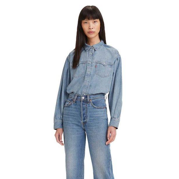 Oferta de Camisa Levi's Pauton Western por R$189,95