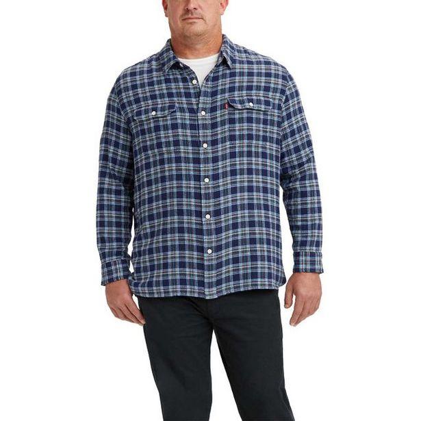Oferta de Camisa Levi's Classic Western Big & Tall por R$339,9