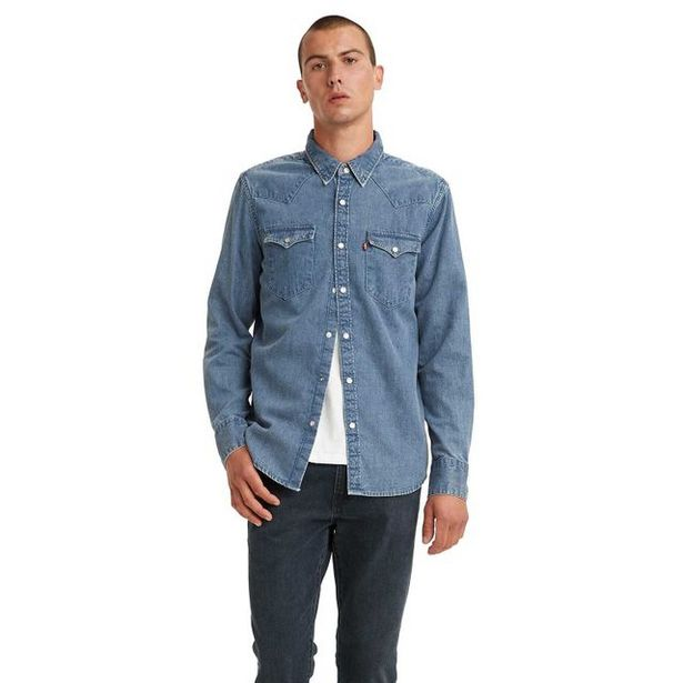 Oferta de Camisa Levi's Barstow Western Standard por R$429,9