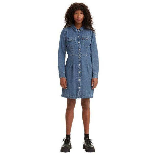 Oferta de Vestido Jeans Levi's Ellie por R$589,9