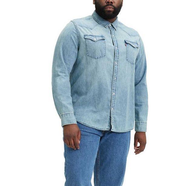 Oferta de Camisa Levi's Classic Western Big & Tall por R$409,9