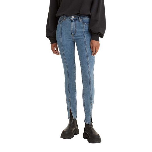 Oferta de Calça Jeans Levi's 721 High Rise Com Fenda na Barra por R$349,9