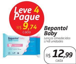 Oferta de Bepantol Baby Lenços Umedecidos c/48 unidades por R$12,99