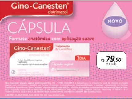 Oferta de Medicamentos Gino-Canesten por R$79,9