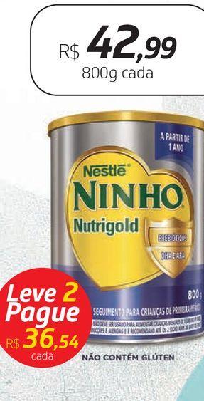 Oferta de Leite em pó Ninho por R$42,99