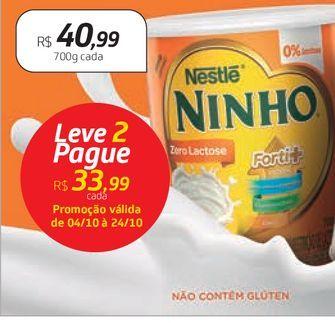 Oferta de Leite em pó Ninho por R$40,99