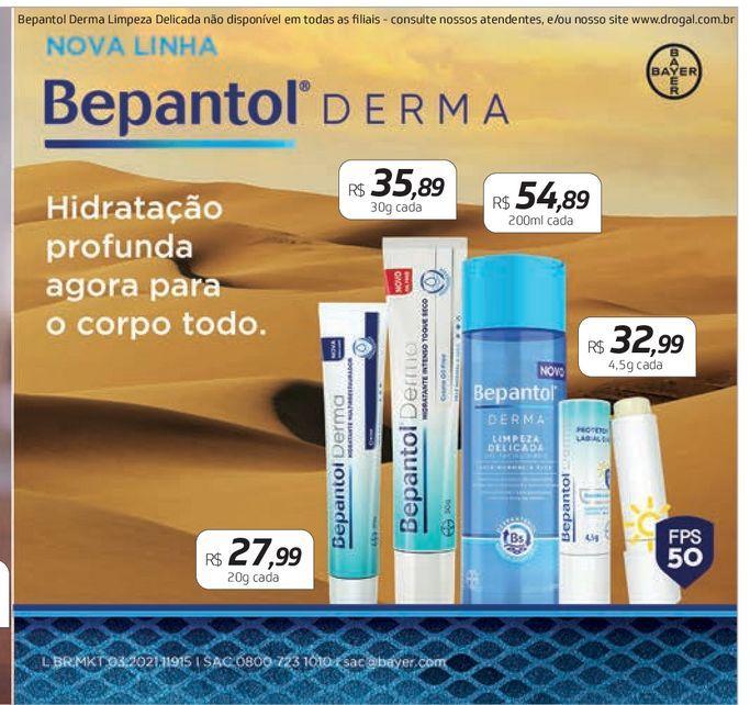 Oferta de Cuidado dermatológico Bepantol derma  por R$27,99